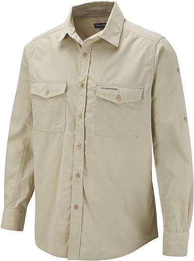 Craghoppers Kiwi Long Sleeved Camisa, Hombre: Amazon.es: Ropa y accesorios