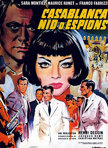 Casablanca, Nest of Spies French Poster