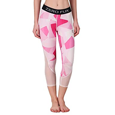 26fdd7feb76c0 ZeroFux ZF Hyper-Breathe Yoga Gym Workout Sports Fitness & Active wear  Stretchable Pink Dimensions