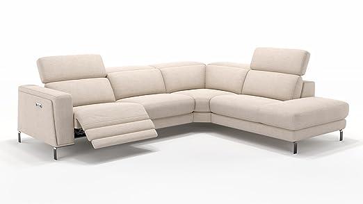 Design Sofa Eckcouch Garnitur Ecksofa Textil Stoff Wohnlandschaft