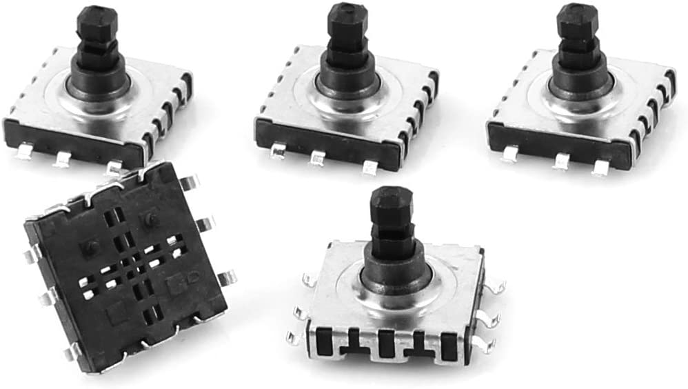 10x10x9mm 6 Pin 5 Way SMD SMT Tactile Tact Switch 5 unidades