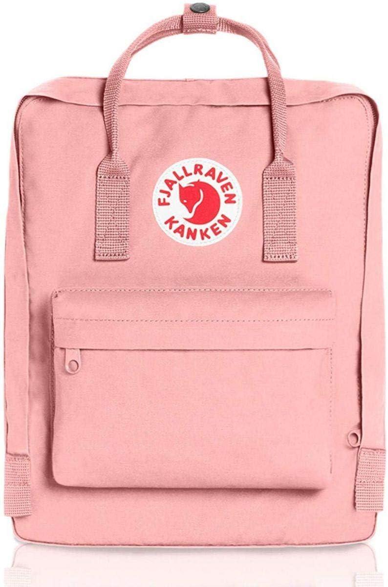 حقيبة ظهر مدرسية كبيرة توتس عصرية باللون الزهري بتصميم كلاسيكي مناسب للسفر والاستخدام اليومي للفتيات من فولريفن كانكن