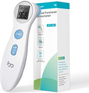 Non – Touch Forehead Thermometer for Fever, Medical Infrared Thermometer