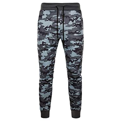 FIRSS Herren Hosen Camouflage Jogginghose Militär Style
