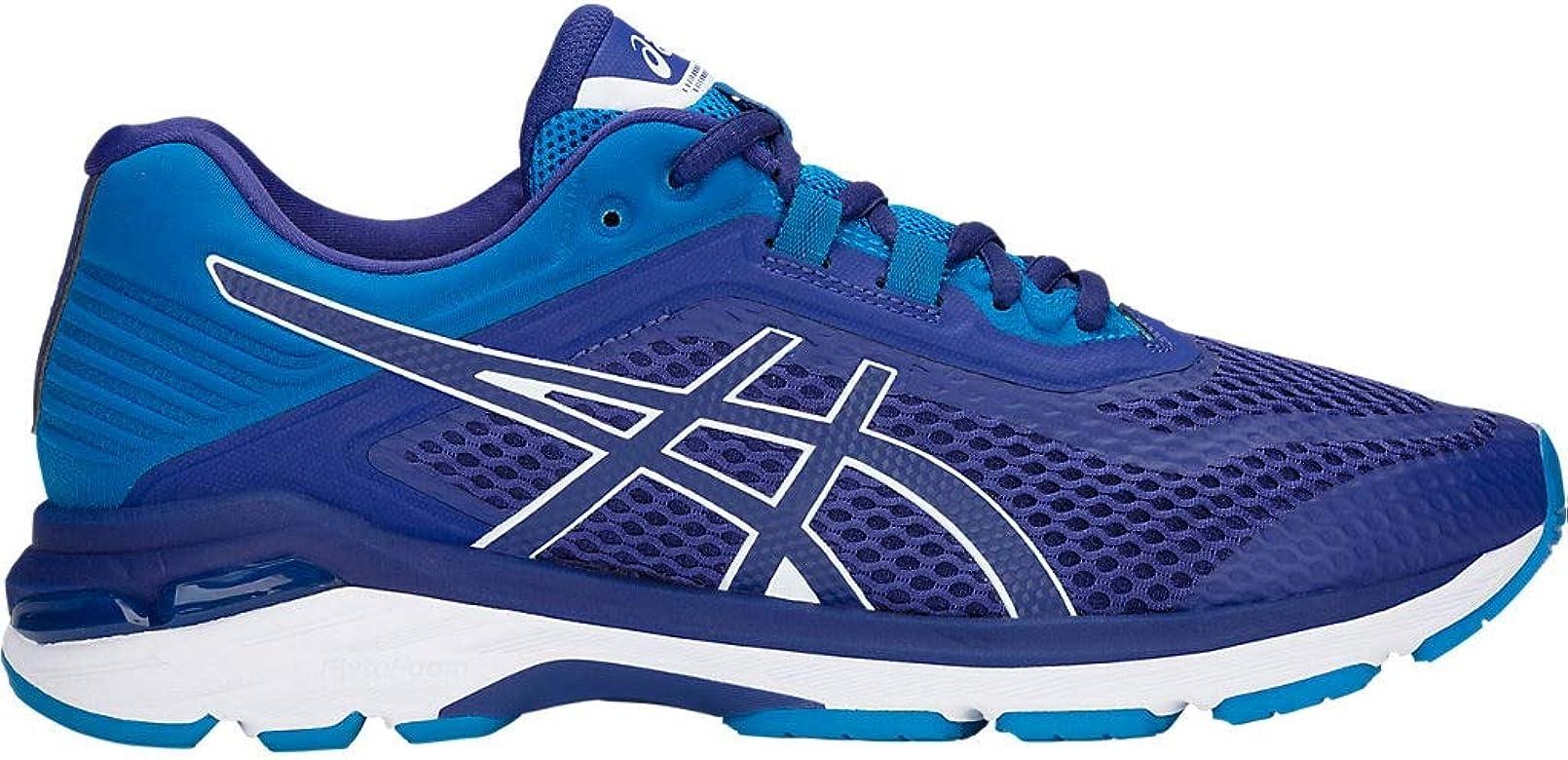 Asics GT-2000 6 - Zapatillas de correr para hombre, Azul (Impresión azul/ azul carrera.), 41 EU: Amazon.es: Zapatos y complementos
