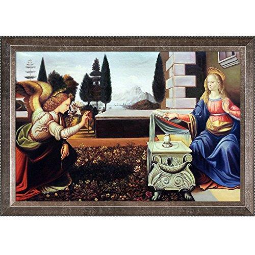 The Annunciation Leonardo Da Vinci - 2