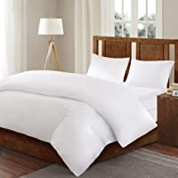 3M Scotchgard Comforter Protector Duvet Cover with Zipper Flap - Waterproof - Hypoallergenic - Protect Against Dust…