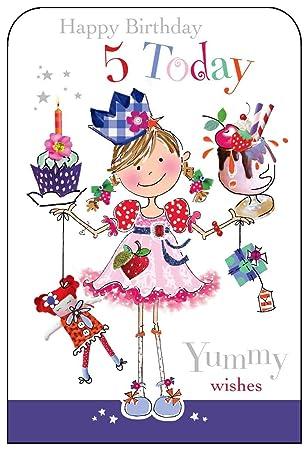 Jonny javelin girl age 5 birthday card amazon electronics jonny javelin girl age 5 birthday card bookmarktalkfo Image collections