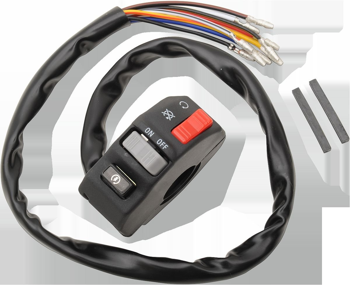 Item picture Emgo Universal 7/8'' Bar Kill Start Multi Switch - Custom Motorcycle - 46-68735