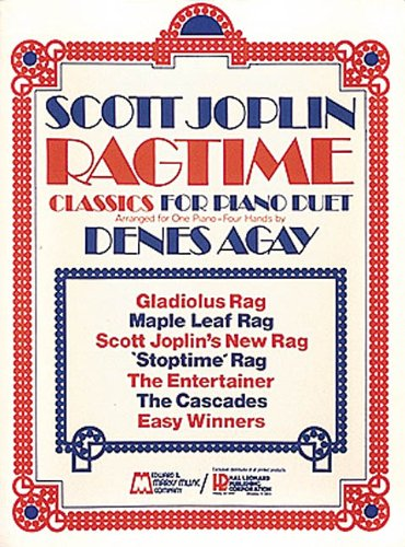 Scott Joplin Ragtime Classics for Piano Duet (one piano, four hands)