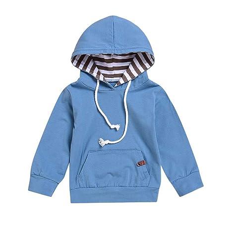 Sudadera con capucha niño niña camiseta niña sudadera Chaquetas niño años Toddler niño bebé niños niñas