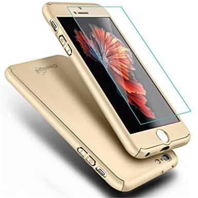 uk availability d74e7 fc1bc iPhone 5 Case,iPhone 5S Case, COOLQO Full Body Coverage Ultra-thin ...