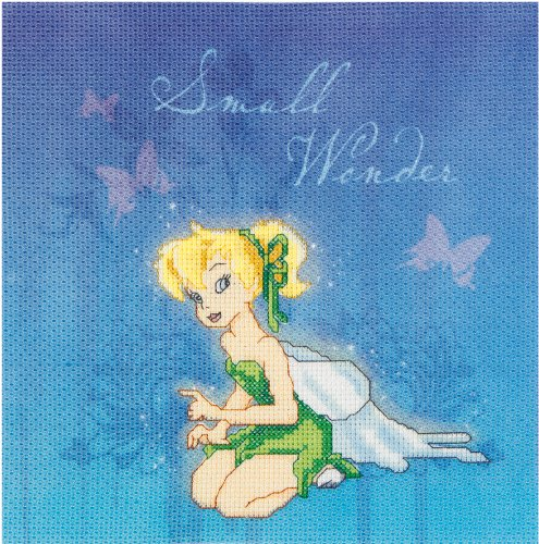 Janlynn Plastic Canvas Kit, Tinkerbell Small Wonder