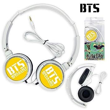 Amazon com: Hosston BTS Headphone, Kpop Bangtan Boys Cute