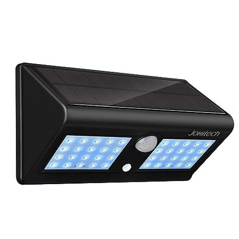 Super brillante 40 LED Solar calle luces, jokitech Sensor de movimiento lámpara de pared brillante