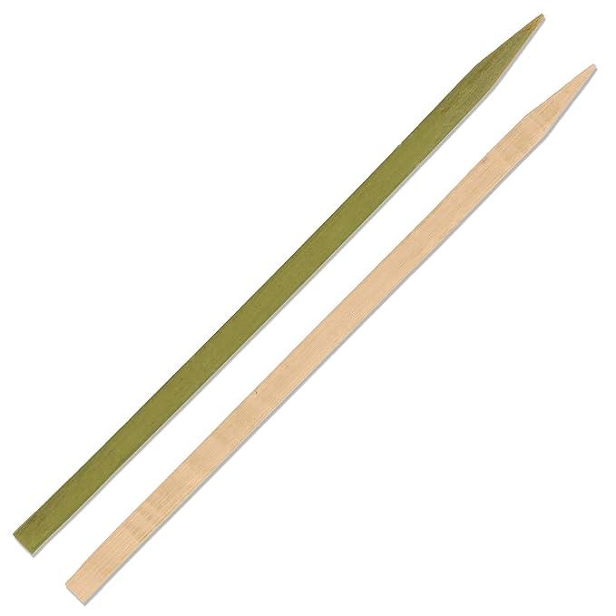 Amazon.com: BambooMN - Pinchos de bambú para barbacoa ...
