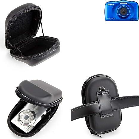 K-S-Trade® Para Nikon Coolpix W150: Caso Duro, Estuche para Cámara ...