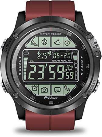 Amazon.com: Zeblaze Vibe 3S Smartwatch, Bluetooth Pedometer ...