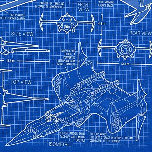 Homme n Swordfish Anime Bebop Racer Mono Bleu t Cowboy A shirt T Ii SOF0OHn