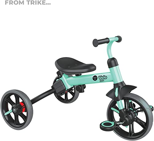 Yvolution Y Velo Flippa 4-in-1 Toddler Trike to Balance Bike