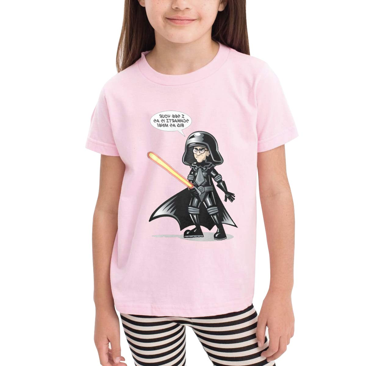 Patricia FordT 6-24 Month Baby T-Shirt Loose Self-Cultivation 2-6 Year Old Childrens T-Shirt The Vermin The Fanart Logo Pink
