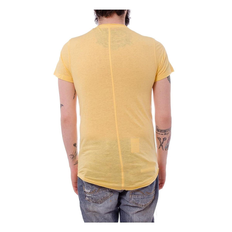 !Solid Barric men, t-shirt, yellow