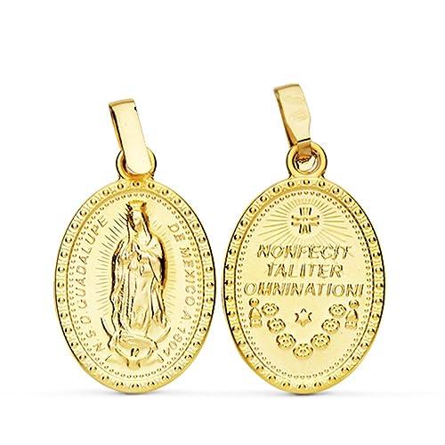 977a88c3a Medalla Escapulario Virgen Guadalupe México 23 mm: Amazon.es: Joyería