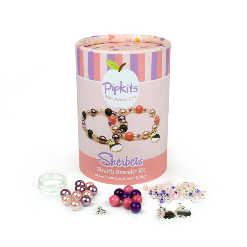 Pipkits Sherbets Stretch Bracelet Jewellery Making Kit by Pipkits 7000 13 01