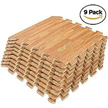 Interlocking Puzzle Wood Mat