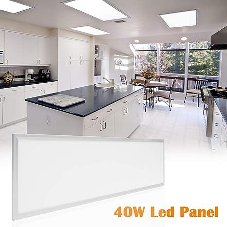 Gut gemocht LED Panel Deckenleuchte Wandleuchte 120x30CM 40W Neutralweiß 4000K ZX71