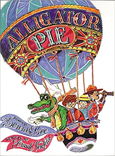 This is an image of a book cover for Alligator Pie.