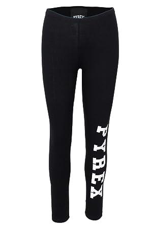 Pyrex Leggings Pantalone Donna in Cotone Stretch Girl Sport 18IPB34230