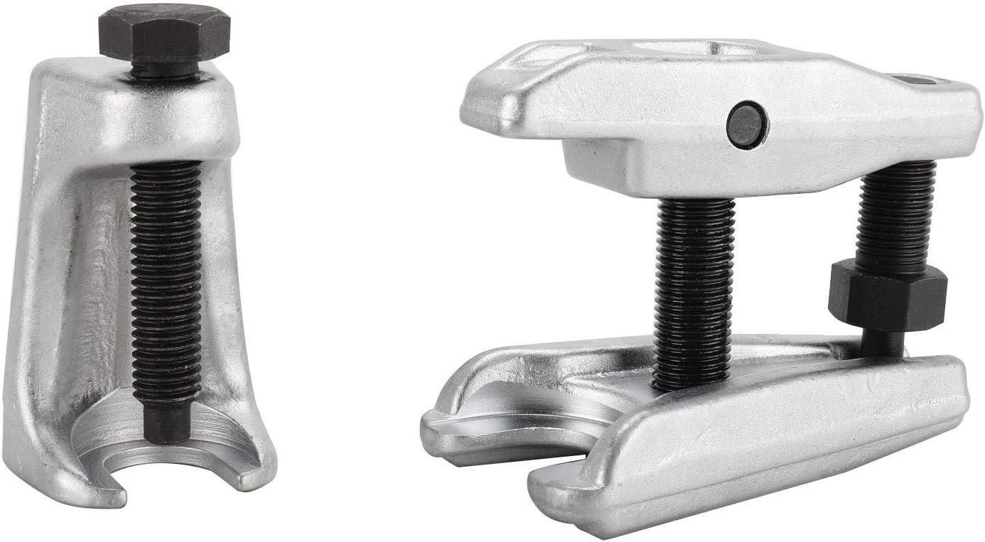 FreeTec - Juego de 2 extractores de rótula de dirección, articulación de rótula, articulación de Soporte, Herramienta Universal de Altura Ajustable