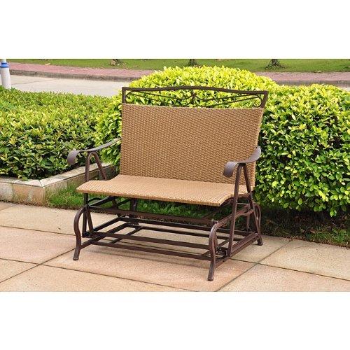 Resin Wicker Single (Wicker Resin/Steel Single Hanging Patio Chair Swing)