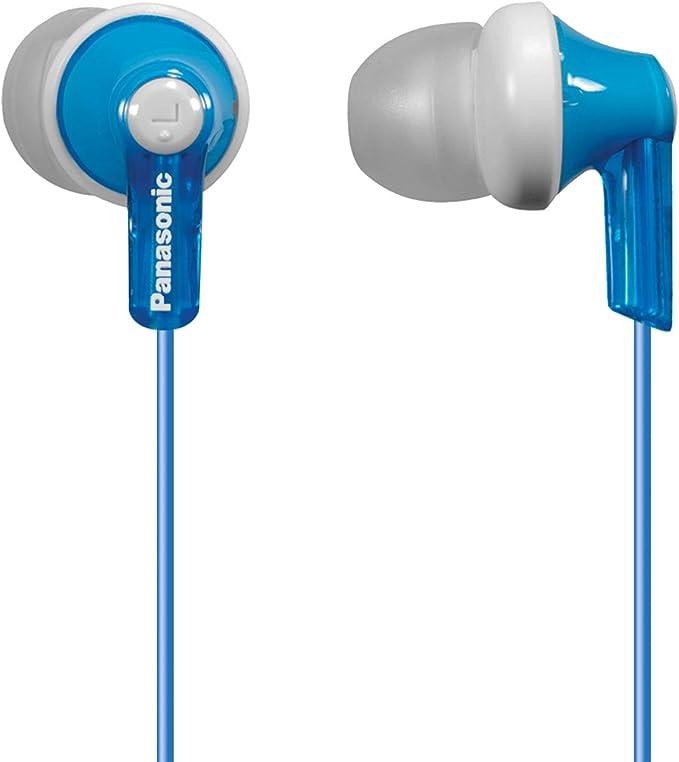 Panasonic RP-HJE120E-K Ergo Fit Ear Canal Headphones Black