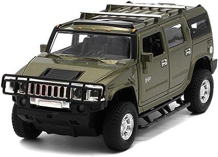1:32 Hummer H2 Off-road SUV Car Model Toy Vehicle Diecast Sound Light Gift Kids