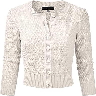 Nouveau Femme Style à manches longues deux poche Ouvert Cardigan Haut Femme Tailles 8-14