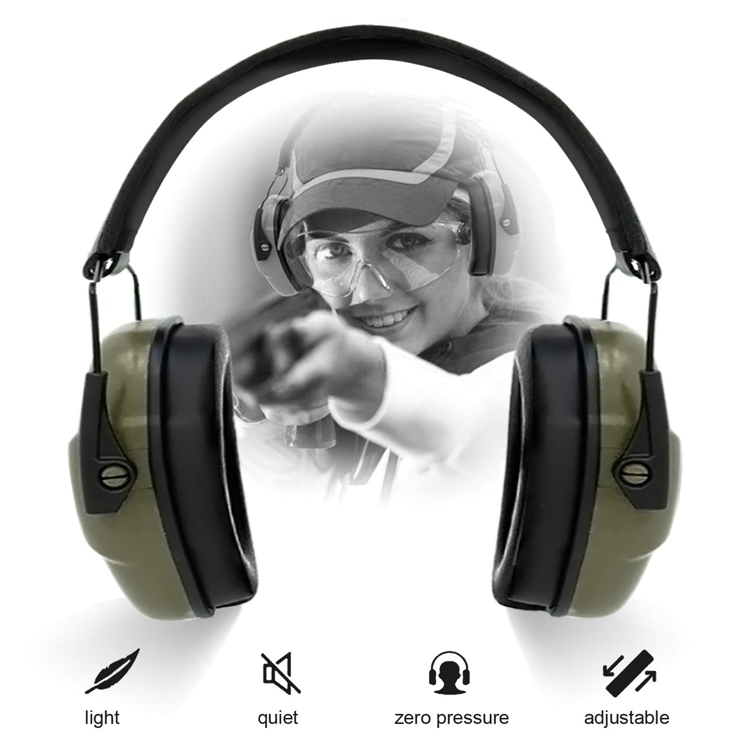 Excellent quality noise reduction headphones that are comfortable.