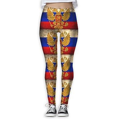 Brstqa Skinny Yoga Pants Russian Flag 3d Print Fitness Sports Running Leggings Jogger Pants For Women