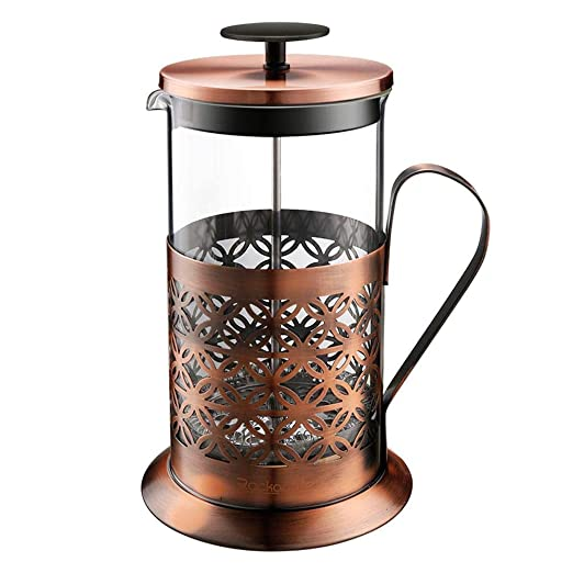 Cafetera francesa de prensa Máquina de té de acero inoxidable ...