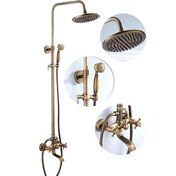 Zhfc Kupfer Antik Dusche Set Retro Bad Badewanne Dusche Systeme