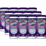 Clorox Disinfecting Antibacterial Wipes, Fresh Lavender - 35 Count Each (Pack of 12)