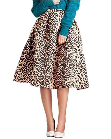 ab4b568749 MULLSAN Women's Print Floral Pleated Skirt Midi Skater Skirt Party Dress  (Beauty) at Amazon Women's Clothing store: