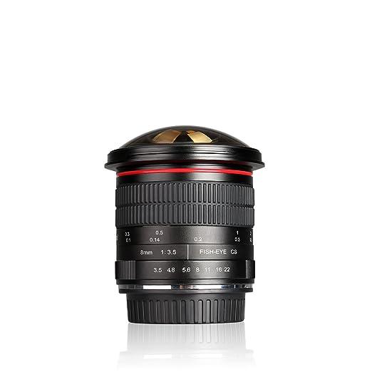 5 opinioni per Meike MK- 8 mm F3.5 Ultra HD Fisheye Obiettivo per Nikon DSLR, fixed-non-zoom