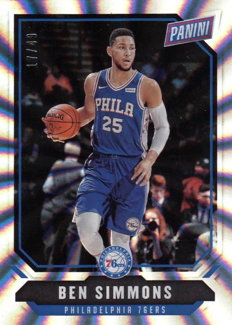 Ben Simmons 2016 Donruss #2 The Rookies SP Rookie Card PGI 10