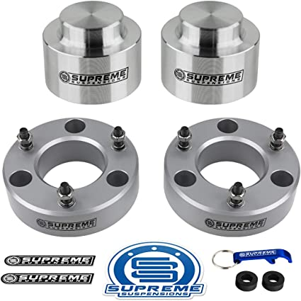 """CHEVY GMC 1500 TAHOE YUKON AVALANCHE 2.5/"""" REAR LIFT LEVELING KIT SPACERS SR"""