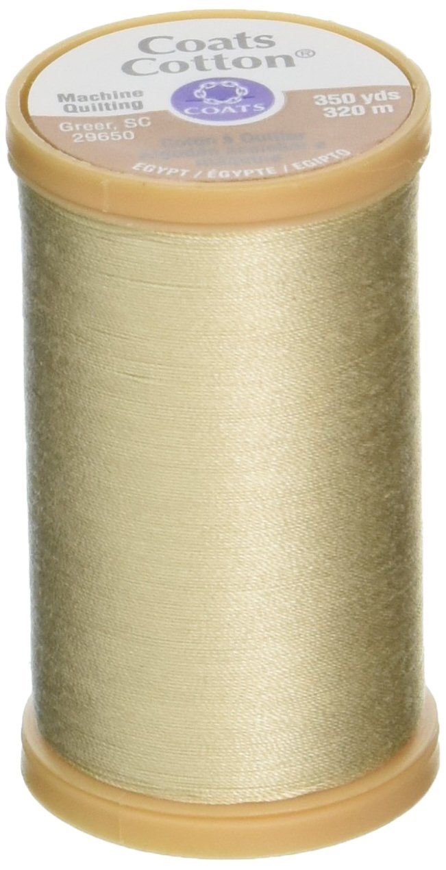 Coats Thread & Zippers Machine Quilting Cotton Thread, 350-Yard, Navy S975-4900