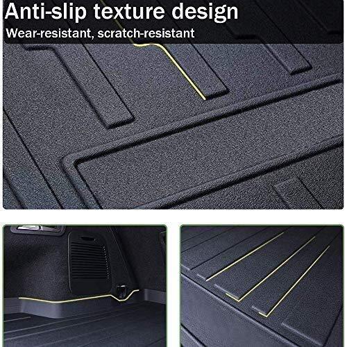 For Renault Kadjar SUV 2016 2017 2018 Tailored trasera del veh/ículo Hoja de bandeja de carga de l/ínea troncal estera del piso de la bandeja de equipaje de alfombras Mat Hoja impermeable