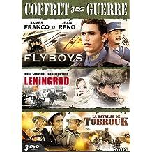 Coffret guerre : Flyboys + Leningrad + La Bataille de Tobrouk