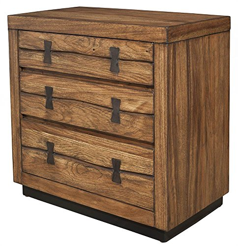 Nightstand in Tobacco Finish by Alpine Furniture